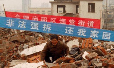 """胥志义:中国的""""强拆""""将载入世界史册"""